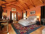 Black Mountain, Pool House Bedroom with Queen Bed