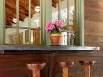 Black Mountain, Outdoor Dining Counter, closeup