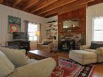 Black Mountain, Farmhouse Livingroom, Wood Stove