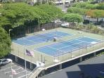 Tennis courts available to all guests