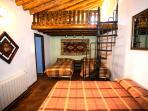 Dormitorio familiar, con baño y aire acondicionado