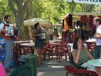 market in saint chinian