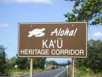 The Ka'u district is the most rural area of the big island; plenty to do & easy drives to everywhere