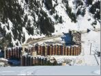 La Plagne (Bellecote) in the Ski season.