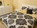 Bedroom 3 has a new queen bedroom suit as well.  It also has a dresser and closet for you to unpack.