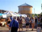 The Santa Fe Farmers Market - a Saturday must!