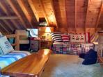 Loft: Lounge area