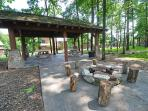 Community Pavilion and Fire Pit