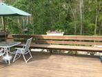 Slider to deck off dining room