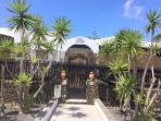 Gated entrance with intercom- just 700 meter from a lovely beach- no car needed