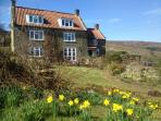 All the rooms in Medds holiday cottage look out over the beautiful gardens