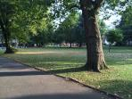 So many parks - more than any other area of London