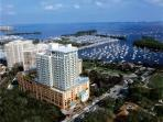 Incredible bay front location that is the Sonesta Coconut Grove Hotel