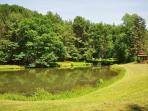Community Pond and Gazebo