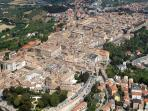 Aerial view of Osimo