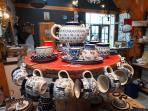 Polish dishware is sold in our shop Bij De Pastorie