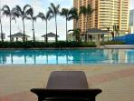 Great way to spend the day sunbathing, lounging and relaxing at the pool area.