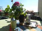 Sea view / olive grove terrace