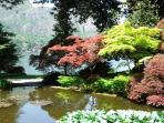 Garden of Villa Melzi in Bellagio
