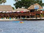 boat house in Cape Coral, watch the sunset