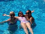 Family Fun In The New Mineral Swimming Pool