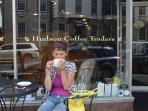 Hudson Coffee is great for your morning latte