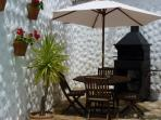 Large rustic barbecue