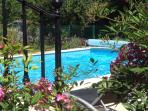 Stunning swimming pool - 10m x 5m shared with other gite and owners