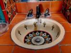 Pretty Mexican handmade sink