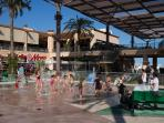 La Zenia Boulevard - Fountains for the children to cool off