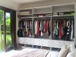 Master bedroom new bespoke storage