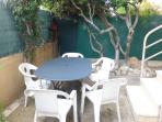 salon de jardin sur terrasse
