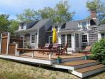 Brand new deck with outdoor furniture - 49 Pleasant Lake Avenue Harwich Cape Cod New England Vacation Rentals