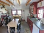 Fully equipped kitchen with dishwasher - 49 Pleasant Lake Avenue Harwich Cape Cod New England Vacation Rentals
