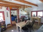 Dining in kitchen - 49 Pleasant Lake Avenue Harwich Cape Cod New England Vacation Rentals