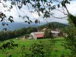 Vue extérieure du hameau