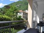 Balcone vista Brunate