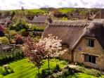 Little Orchard is just off The Cotswold Way in Chipping Campden