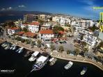 Panoramic showing location of MarinaSol apartments