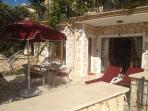 private patio/terrace