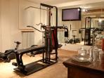 Gym in Resort