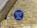 English novelist Graham Green once lived here!