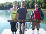 Cator family with a good day of fishing