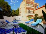 Comfortable villa with heated pool