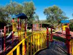 Alicate Playa Marbella for rent, children play ground