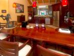 Designer kitchen, fully equipped for the chef the group
