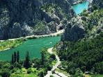 River Cetina and rafting activities
