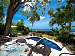 Enjoy these amazing views from the comfort of your private patio and plunge pool