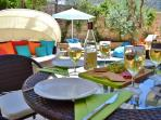 Enjoy al-fresco dining at Elmas Yildiz