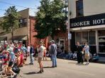 The Hooker Hotel - you always have a front row seat for the Blues